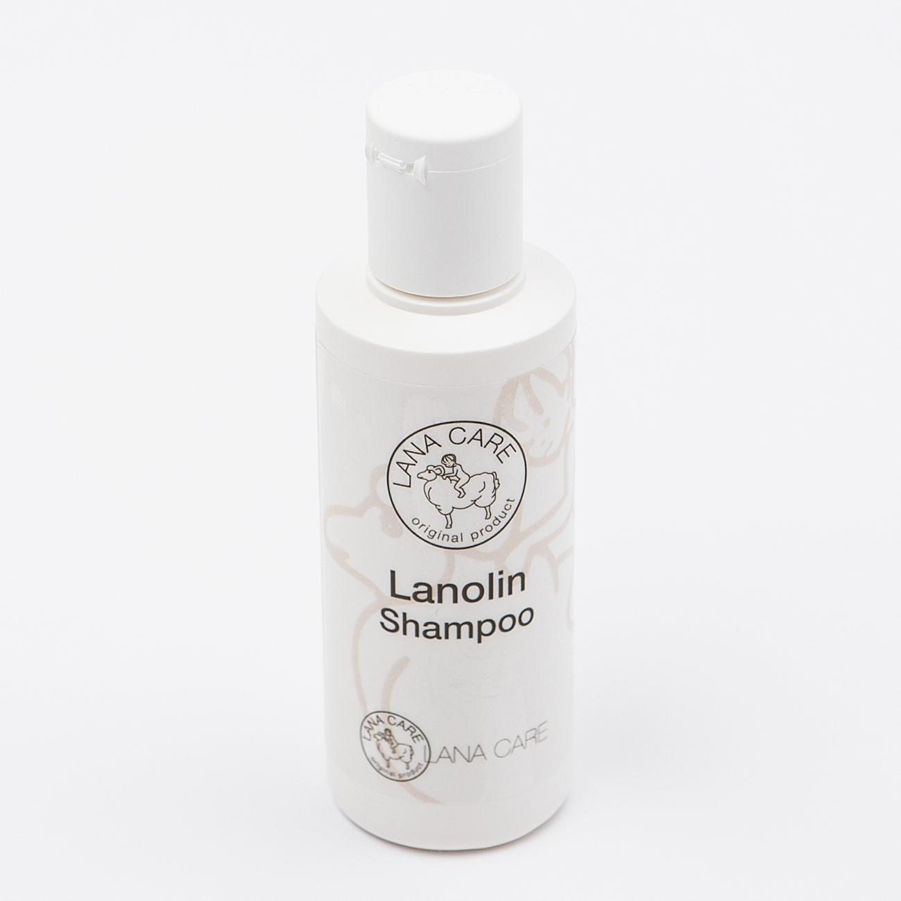 Lanolin shampoo