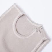 Vest brown detail