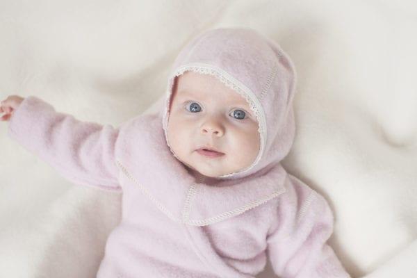 Baby Schlupfmütze mit Spitze - Lana Care